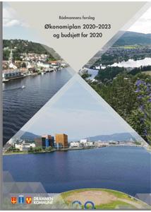 Hvor kan jeg laste ned økonomiplan for Nye Drammen 2020 2030?