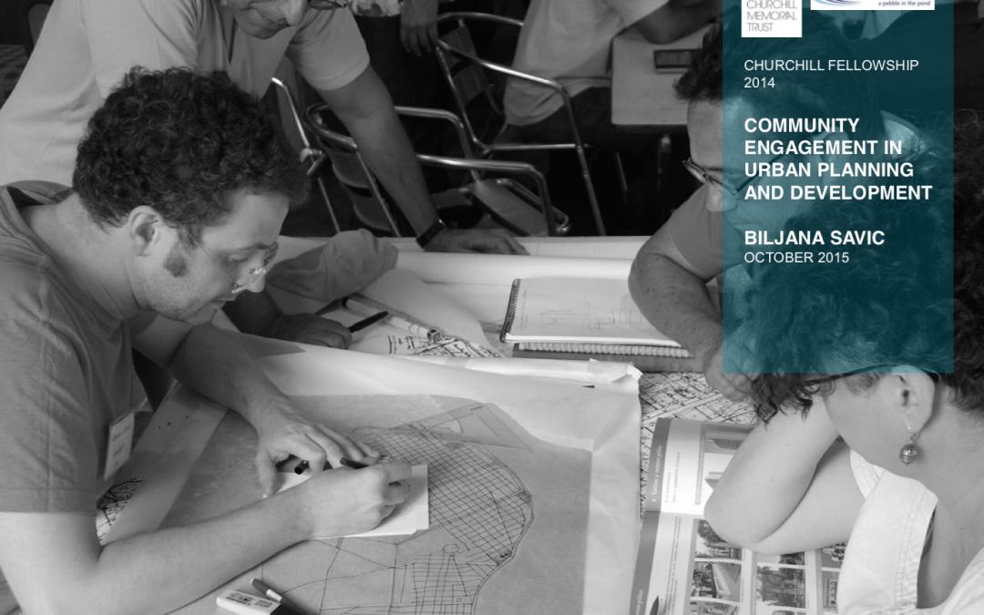 Engasjement av lokalmiljøet  i urban planlegging og utvikling (Biljana Savic: 2014)