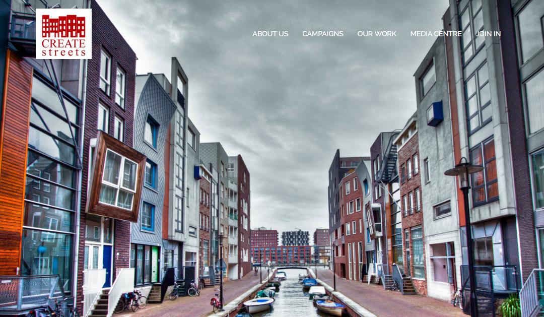 Create Streets vil møte boligbehov gjennom med medvirkning